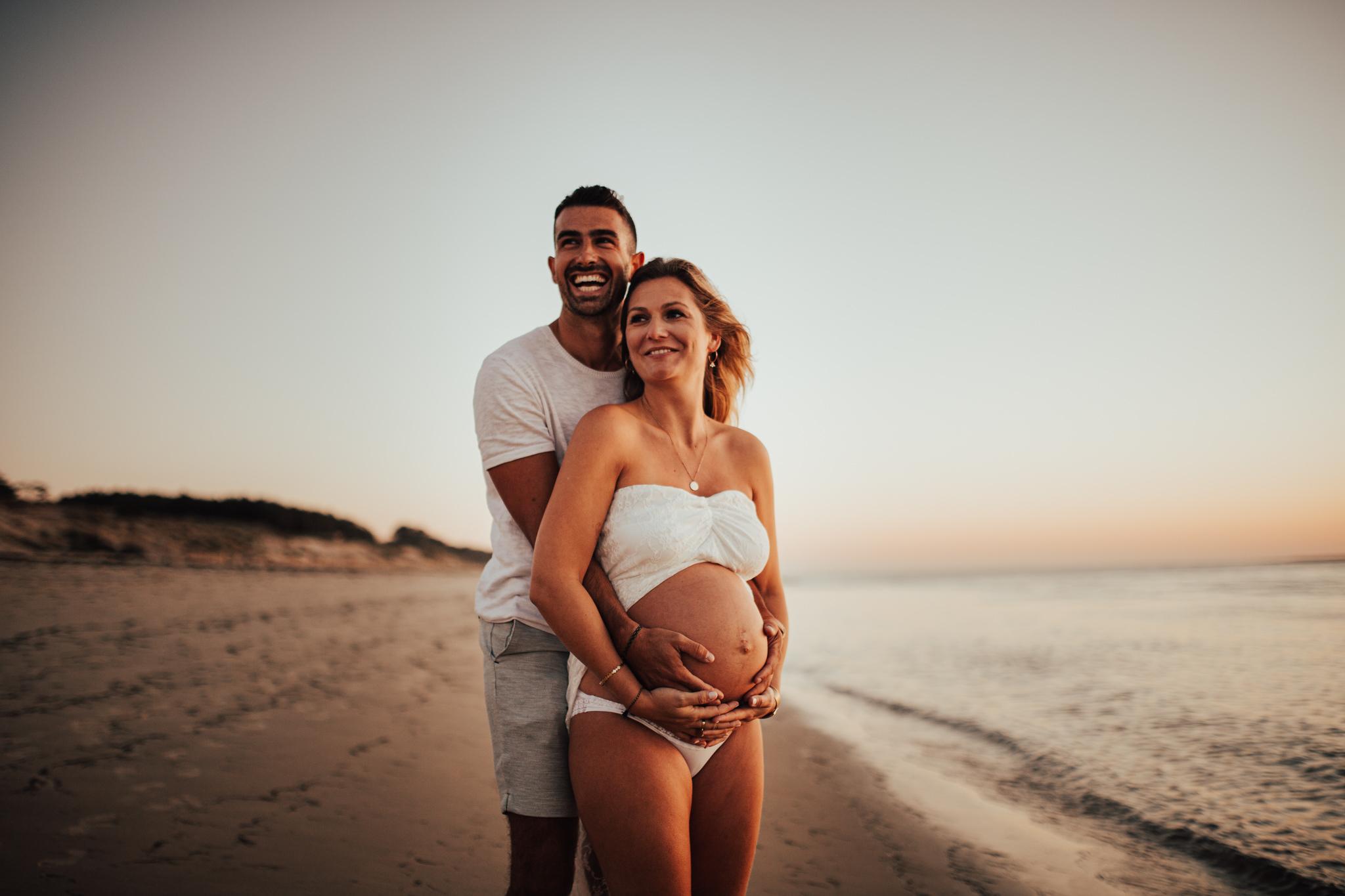 photographe grossesse famille bébé naissance gironde sud ouest